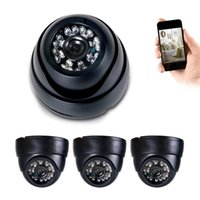 "Wholesale High Resolution Dome - 1 4"" CMOS 4X 700TVL Dome CCTV Camera Indoor 24Led 3.6mm For 4CH 8CH High Resolution Security Camera System Day Night Vision 1xUSB MOUSE"