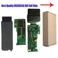 Wholesale Scanner Vas - Wholesale-Preferential price V2.0 VAS 5054A V2.2.4 Bluetooth Scanner for VAS 5054 VW 5054 with OKI Chip