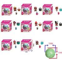 Wholesale Funny Cartoons Kids - 7cm LOL LQL Surprise Doll Surprise Egg DIY Figures Toy for Kids Children Cute Funny Gift Ball Various Send Randomly
