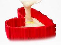 наборы для выпечки оптовых-20 компл./лот 4 шт./компл. DIY магия силиконовые формы для выпечки квадратный круглый формы сердца торт выпечки плесень выпекать змея выпечки кондитерские инструменты