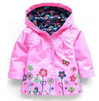 Wholesale Kids Rain Cover - 2016 new Winter Kids Outerwear Jacket Shirt Boys Girls Jackets Jackets Children Jacket Spring   Autumn Fashion Children cover Rain Clothes