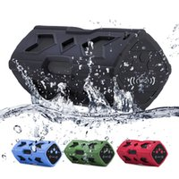 Bluetooth Mini Speaker Music Box Portátil Waterproof NFC + Power Bank sem choque estéreo sem fio player bicicleta ciclismo áudio som subwoofer