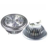 Wholesale E27 Warm 14w - AR111 Led G53 E27 GU10 14W 18W Led Spotlights ceiling lamp Dimmable warm cool white led bulbs 60 beam angle 110V 220V UL
