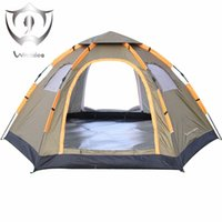 Wholesale Waterproof Pop Up Tents - Instant Family Tent 6 Person Large Automatic Pop Up Waterproof For Outdoor Sports Camping Hiking Travel Beach Tents Barraca