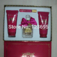 Wholesale All kinds of gift set perfume Perfume with body lotion and shower gel All kinds of brand perfume