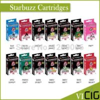 Single Multi Metal (50pcs lot)Hot starbuzz cartridges with 14 flavors starbuzz e hose cartridges e hookah electronic cigarette e-hose cartridges