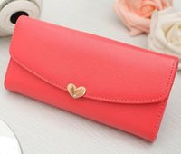 Wholesale Cute Photos Love - Cute Love Long Wallet For Women Female Purse Women Wallet Pouch Portefeuille