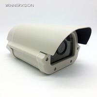 Wholesale Waterproof Cctv Camera Housing - Free Shipping CCTV Box Array LED Light Aluminium Alloy Waterproof Outdoor Security CCTV Camera Housing