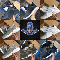 New Arrival NMD XR1 PK Femmes Chaussures de course pour hommes Mastermind Japan Skull Sneaker NMD xr1 Primeknit Camo Fall Olive Hommes Femmes Chaussures de sport
