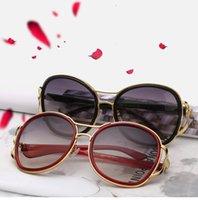 Wholesale Brand New Fashion Women - New Fashion Women Glasses Brand Designer Women Sunglasses Summer Shade UV400 Sunglasses SG1023