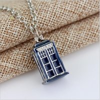 Wholesale Dr House - Factory Direct!Movie themes series Mysterious Dr. necklace, enamel house necklace