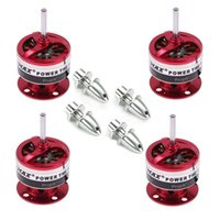 Wholesale Emax Cf2822 Brushless - 4x EMAX CF2822 1200KV Brushless Motor w Prop Adapter for Airplane Quadcopter