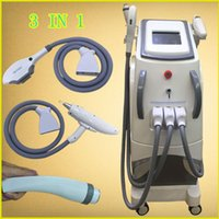 Wholesale Nd Yag Laser For Sale - shr ipl hair removal machine for face nd yag q-switch laser tattoo removal laser sales vacular veen laser black doll treatment