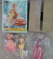 Wholesale One Piece Shirahoshi - one piece Shirahoshi after two years collection anime figure the grandline box-packed PVC doll gift Decoration 16cm T7435