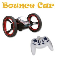 Wholesale Rc Hot Wheels - Free shipping Hot Sale New Arrival HappyCow 777-359 4CH 2.4GHz Jumping Stunter Sumo RC Car Bounce Car FSWB