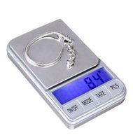 Wholesale digital reloading scale for sale - Group buy Mini LCD backlight Jewelry Scale Weigh High Precision Digital Pocket Scale Reloading Jewelry and Gems Weigh Scale GL MS