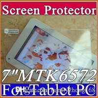 Wholesale phablet android 4.2 mtk6572 resale online - Original Screen Protective Film Protector Guard for quot MTK6572 quot G Phablet Android Tablet PC D PG