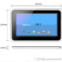 Wholesale Cheap Chinese Tablets Hdmi - Cheap 9 inch ACTIONS ATM7029B Quad Core 1.5Ghz Android 4.4 tablet pc 512M RAM 8GB ROM Dual camera with bluetooth HDMI Skype tablet pc