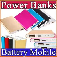 Wholesale F Tablet - Wholesale Ultra thin slim powerbank 8800mah xiaomi power bank for mobile phone Tablet PC External battery F-YD