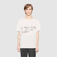 Wholesale Geometric White Womens Top - COMMOM SENSE IS NOT THAT COMMON Womens Round Neck Casual Tees Summer Women Tops New Arrival Ladies Short Sleeve Letter Printed T-