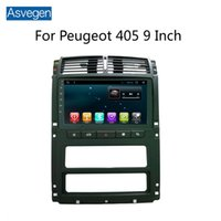 Per Peugeot 405 9 pollici dispositivo di navigazione per auto Asvegen con Octa Core GPS Audio Video Radio MP5 Player Bluetooth TPMS OBD RDS