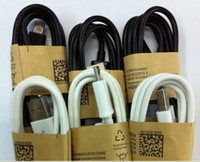 Wholesale Micro Usb Mobile Phone Cable - free shiiping Micro USB Cable Mobile Phone Charging Cable USB2.0 Data sync Charger Cable for Samsung S3 S4 S5 HTC Android Phone