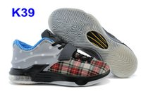 Wholesale Kd Prices Green - 2015 Kevin Durant KD 7 Basketball Shoes For Men KD7 PBJ Sports Shoe Athletic Best price Quality With Standout Midsole free shipping