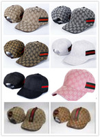 Wholesale Cool Winter Beanies - 2017 Fashion Baseball Cap Casual Cap Men's Women Outdoor Sports Adjustable Baseball Caps Hip Hop Snapback Cool G Pattern Hats Cap New Brand