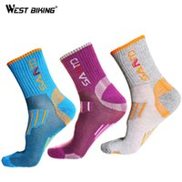 Wholesale Bicycle Silk - 2015 Women Breathable Riding Crew Socks Ciclismo Bicicleta Outdoor Hiking Camping Running Sports Sock MTB Road Bicycle Socks