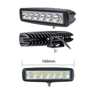 Wholesale off road led driving light - 18W LED Off Road Spot Light Lamp Fog Driving SUV Car Truck Trailer Tractor ATV Flood Beam