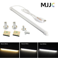 Wholesale Ct Lights - USB LED Under Cabinet Light Fixture 5W Brightness Dimmable Under Counter Lighting Strip CT 2700-6500K Adjustable LED Strip