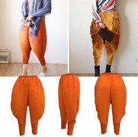 Wholesale Men Capris Xxl - Harem women pants women trousers linen leggings lady Men casual plus big size xxl xxxl stretch Haroun long slim hip hop