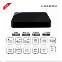 Wholesale Bluetooth Receiver T - 2pcs 2016 Mini M8S II Android 6.0 TV Box 2G DDR3 8G EMMC Amlogic S905X Quad Core WIFI Bluetooth 4.0 Penta Core ARM Mali-450 GPU