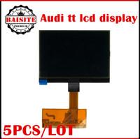 Wholesale Audi Tt Screen - Good feedback 5pcs lot Free Shipping For AUDI TT LCD Display Screen for audi TT Jaeger A3 A4 Jaeger LCD dash dashboard repair
