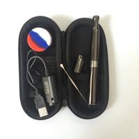 ingrosso vaporizzatore per solidi-Cera al quarzo vaporizzatore penna puffco attacco cera e solidi cera frantumazione penna fumante ciotola profonda QUARZO riscaldamento vaporizzatore e sigaretta