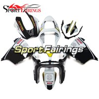 Wholesale Kawasaki Zx9r Black - White Black Yellow Full Fairings For Kawasaki ZX9R 2000-2001 ABS Plastic Motorcycle Bodywork Body Kit Cowlings Body Kit Body Fittings