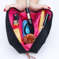 ingrosso grandi borse quadrati-Mano nella mano per prendere il pacchetto di cosmetici contratto piccola borsa quadrata grande capacità sud coreano cosmetici impermeabili portatili grande accetta borsa