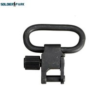 Wholesale Tri Gun - Tactical Military QD Quick Detachable Sling Swivel Mount with Tri-Lock Adjustable Sling Swivel Holder for Hunting Gun Rifle 1pc order<$18no