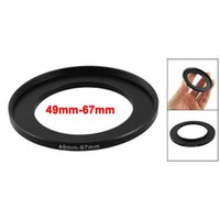 Discount filter adapter rings - Wholesale- EDT- Camera Lens Filter Step Up Ring 49mm-67mm Adapter Black