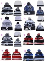 Wholesale Yankees Women - Album Offered 2016 New Wool Beanies For Men Women YANKEE Beanie Knitted Hats Skull Snapbacks Cap Hip Hop Caps Fashion Hat Winter