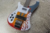 Left Handed 4003 Beatles Paul MCcartney Signautre Ricken 1964 4001s PSICKEDELIC RARE BASS 4 cuerdas Bajo eléctrico