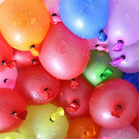 Wholesale Small Round Balloons - 120pcs+120 rubber +1 tool small balloons Water polo round multicolor latex balloon wedding party summer outdoor fun toy balloons