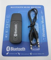Wholesale mm Stereo Audio Music Speaker Receiver Adapter Dongle USB Bluetooth Wireless