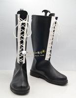 Wholesale Hitman Reborn Costumes - Wholesale-Katekyo Hitman Reborn Rokudou mukuro Chrome Dokuro Cosplay Boots shoes Version 2 #TS126 Custom made