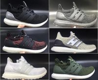 Wholesale Woman Shoes Size 12 - Ultra boost 3.0 Running Shoes Men Women High Quality UltraBoost 3 III Primeknit Runs White Black Athletic Shoes US Size 5-12