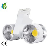 Wholesale Led Track Lighting Wholesale Commercial - 40W 60W 80W LED Track Lights Double LED Track Lights with High CRI for Commercial Lighting OED-T2021D-40W