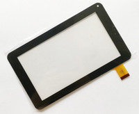 pc-touch-display großhandel-Brandneue Touchscreen Display Glas Digitizer Digitiser Panel Ersatz Für 7 Zoll 86 V Anruf A23 A33 Tablet PC Reparatur teil