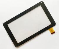 tablet yeni ekran toptan satış-Marka Yeni Dokunmatik Ekran Cam Sayısallaştırıcı Sayısallaştırıcı Paneli Değiştirme 7 Inç 86 V Telefon Görüşmesi Için A23 A33 Tablet PC Onarım Bölümü