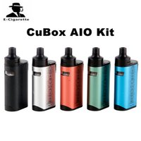 Original Joyetech CuBox AIO Kit Built-in 2000mAh Bateria 50W Vape Mod VS Joyetech Atopack Penguin SE Kit DHL 2220080