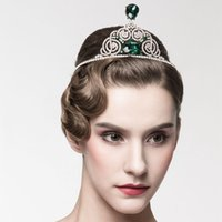 Wholesale Princess Tiara Party - Big Rhinestone Small Tiaras and Crowns Beautiful High Quality Cheap Imported Princess Halloween Party Wedding Accessories Headband